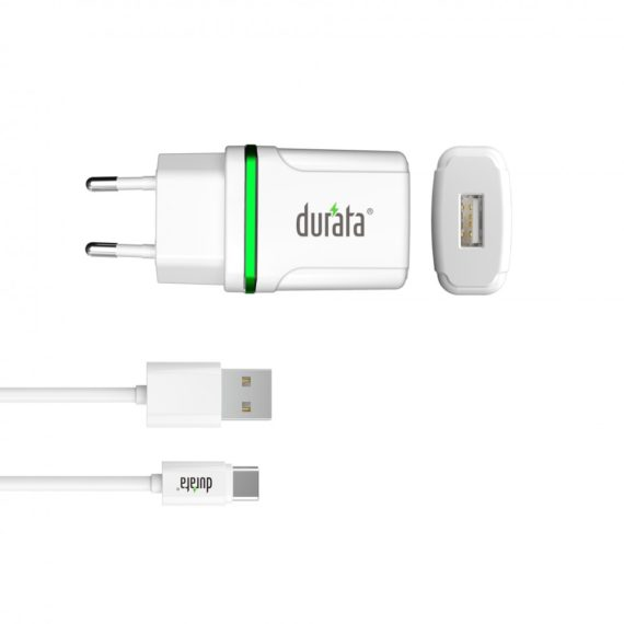 Durata-Home-Charger-Smart-Mini-plus-Type-C-Cable-2-1-1A-Output-DR-65C-White-1000x1000